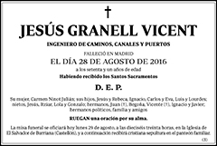 Jesús Granell Vicent